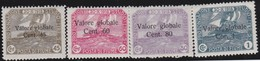 Fiume   .     Yvert     .    61/64    .     *      .    Neuf Avec Charniere      .    /   .   Mint-hinged - Fiume