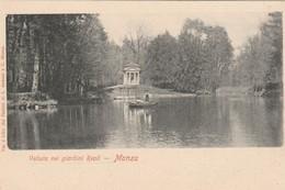 MONZA - VEDUTA NEI GIARDINI REALI - Monza