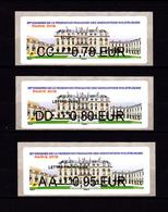 Atm-Lisa / Lot 0.78, 0.80, 0.95 € Nabanco / 91 ème Congrès FFAP, Palais De L'Elysée / Paris-Philex 2018 - 2010-... Geïllustreerde Frankeervignetten