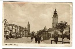 Bialystock - Ratusz - Circulée - 2 Scans - Polen