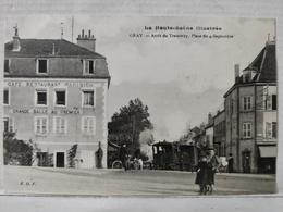 Gray. Arrêt Du Tramway. Place Du 4 Septembre. Café Restaurant Parisien - Gray