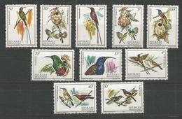 RWANDA - MNH - Animals - Birds - 1982 - Birds