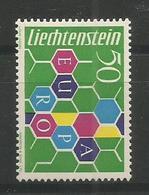LIECHTENSTEIN - MNH - Europa-CEPT - Art - 1960 - Europa-CEPT