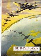 De Havilland Mosquito Fighter/Bomber  -  Publicité D'epoque Pour  De Havilland 1942  -  CPM - 1939-1945: 2ème Guerre