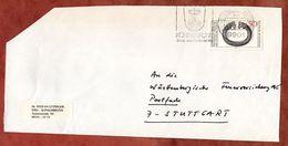 Brief, Silberring Von Trichtingen, Koenigsbrunn Nach Stuttgart 1976 (77436) - BRD