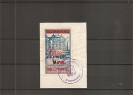 Luxembourg ( Timbre De Taxe Communale De Esch-sur-Alzette Sur Fragment à Voir) - Luxembourg