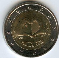 Malte Malta 2 Euro 2016 Coeur Héritage Culturel UNC - Malta