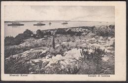 CPA -  Croatia, LESINA / HVAR, Hvarski Kanal - Canale Di Lesina. - Croatie