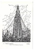 Alfred Ost - Toren In Feesttooi - Hoogstraten. - Mechelen
