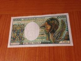 CONGO - 10 000 F -  Banque Des états De L 'afrique Centrale  TB  ( Port à Ma Charge ) - República Del Congo (Congo Brazzaville)