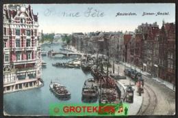 AMSTERDAM Binnen-Amstel TRAM Streetcar - Amsterdam
