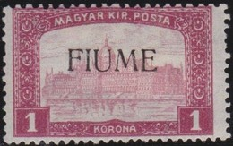Fiume   .     Yvert     .    17     .     *      .    Neuf Avec Charniere      .    /   .   Mint-hinged - Fiume