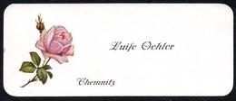 B2254 - Chemnitz - Luise Oehler - Visitenkarte - Visitenkarten