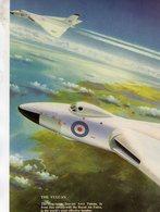 Vulcan Bomber  -  Publicité D'epoque Pour  Avro Vulcan   -  CPM - 1946-....: Era Moderna