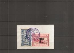 Luxembourg ( 1 Timbre De Taxe Communale + 1 Timbre De Dimension De Luxembourg Sur Fragment à Voir) - Luxemburg
