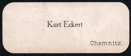C5914 - Chemnitz - Kurt Eckert - Visitenkarte - Visitenkarten