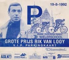 Rik Van Looy, Carte - Cyclisme