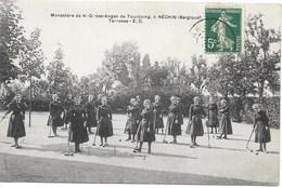 Néchin NA9: Monastère De ND Des Anges De Tourcoing. Terrasse 1910 - Estaimpuis