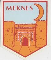 Meknes, Autocollant, Stickers. - Autocollants