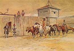 PIE.E.19-8658 :  CARSON'S MAN. BY CHARLES MARION RUSSEL. - Etats-Unis