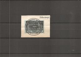 Luxembourg ( 1 Timbre De Taxe Communale De Differdange Sur Fragment à Voir) - Luxemburg