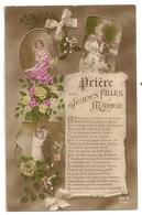 52 -  Prière Des Jeunes Filles à Marier - Couples