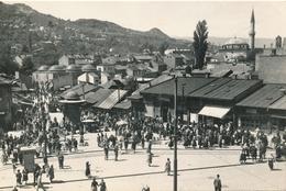 CPSM - Croatie - Sarajevo - The Old Turkish Market - 1959 - Croatie