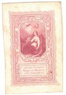 RARE STE SAINTE LUCRECE VIERGE ET MARTYRE 23 NOVEMBRE IMAGE PIEUSE RELIGIEUSE HOLY CARD SANTINI PRENTJE - Devotion Images