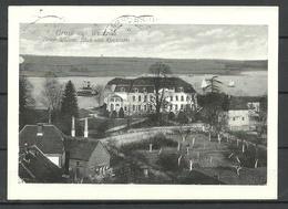 Deutschland WUSTRAU Schloss D. Husarengenerals H.-J. V. Zieten Landkreis Neuruppin Gesendet 1994 Mit Briefmarke - Germany