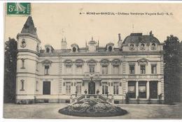 CPA NORD 59 MONS-EN-BAROEUL Château Vandorpe (Façade Sud ) édit EC N°4 Carte Décollée Vendue En L'état - France