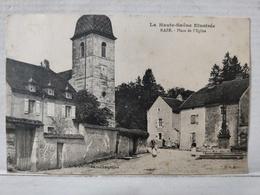 Raze. Place De L'Eglise - Francia