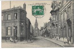 CPA NORD 59 MONS-EN-BAROEUL La Douane Et Rue De L'Eglise   édit EC N°7 - France