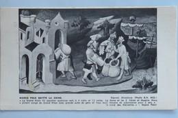 """Carte Postale : """"MARCO POLO Quitte La CHINE"""", 2 Timbres De Hong Kong In 1953, édité Par  Plasmarine - China (Hong Kong)"""