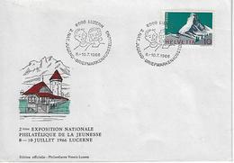 Switzerland 1966  LUZERN  8-10.7.66   Mi.820 - Covers & Documents
