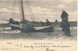 CPA - Belgique - Heist - Heyst - Embarquement Des Voyageurs - Heist