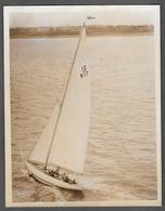 VOILIER - BARCA - SAIL BOAT - BARCA A VELA - SCEPTRE ROYAL YACHT SQUADRON CHALLENGER  1958 - Barche