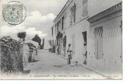 Ile D'Oléron - La Brée - Une Rue En 1906 (animée) - Ile D'Oléron