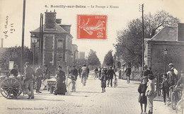 Romilly-sur-Seine ,le Passage à Niveau - Romilly-sur-Seine