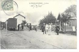 Saint-Pierre-d'Oleron - La Gare,, 1906 (animée) - Saint-Pierre-d'Oleron
