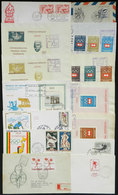 TOPIC SPORT: 16 Covers Of Varied Countries, All Related To Topic Sport, Very Nice Group, Fine To VF General Quality, Low - Stamps