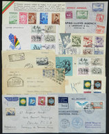 TOPIC SPORT: 1 Cover Front + 9 Covers Of Varied Countries, All Related To Topic Sport, Some Very Interesting And Scarce, - Stamps