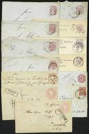 GERMANY: 13 Old Used Postal Stationeries, Interesting! - Allemagne