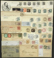 GERMANY: About 43 Postal Stationeries Used In Varied Periods, Most Of Fine Quality. There Are Some Very Interesting Canc - Germany