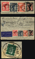 GERMANY: Airmail Cover Sent From Hannover To Argentina On 26/AU/1932 By Air France Franked With 1.85Mk., With Interestin - Germany