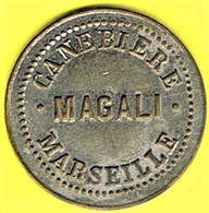 Jeton De Bal - MAGALI à MARSEILLE (13) - Monétaires / De Nécessité