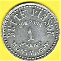 Jeton De Bal - Moulin De La Galette à MONTMAGNY (95) - Monétaires / De Nécessité