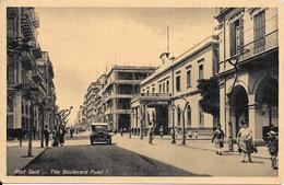 CPA-1930-EGYPTE-PORT SAID-Le BOULEVARD FOUAD-TBE- - Port-Saïd