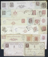 ITALY: About 20 Old Postal Stationeries, Almost All Used, Mixed Quality, Low Start! - Italy