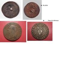 Sol Louis XVI - Très Mauvais état - 987-1789 Monnaies Royales
