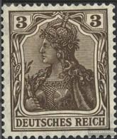 German Empire 84I Peace Print With Hinge 1905 Germania - Deutschland